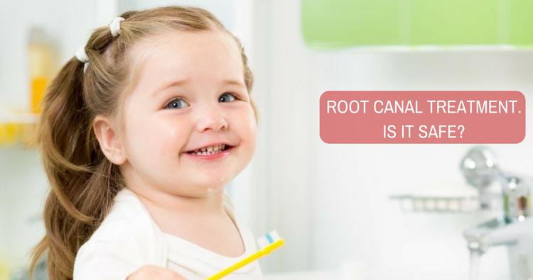 درمان ریشه یا عصب کشی در کودکان